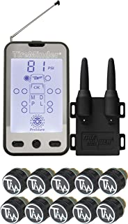 TireMinder Minder TM-A1A-10 Tire Monitor with 10 Transmitters