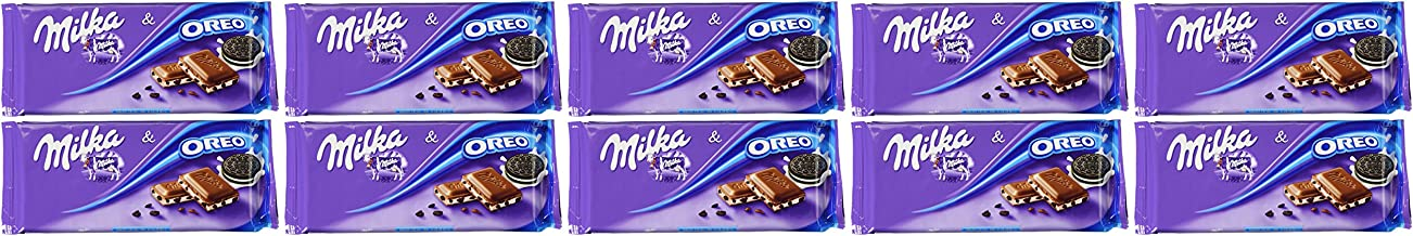 Milka Oreo Bar 100g (10-pack)
