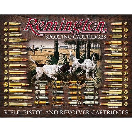 """Remington  Metal Sign 6/"""" x 18/"""""""