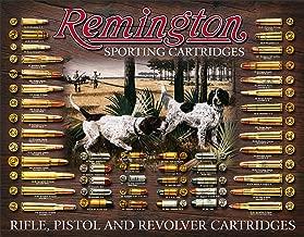 Desperate Enterprises Remington Bullet Board Tin Sign, 16