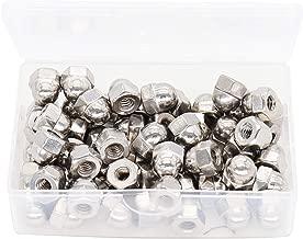 binifiMux 60pcs 10-24 Acorn Cap Nut 18-8/304 Stainless Steel