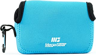 MegaGear MG1247 Canon PowerShot SX740 HS SX730 HS SX720 HS SX710 HS G16 G15 Estuche de cámara ultra ligero de neopreno – Azul