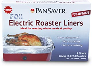 PanSaver 45950 Foil Electric Roaster Liner