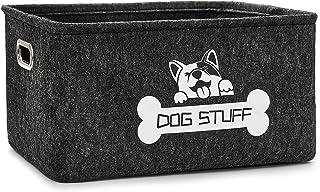Thankspaw Dog Toy Basket, Pet Supplies Storage Basket...