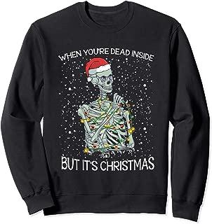 dead inside sweater