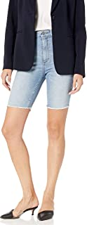 DL1961 Women's Jerry Bermuda-High Rise Vintage Straight Jeans