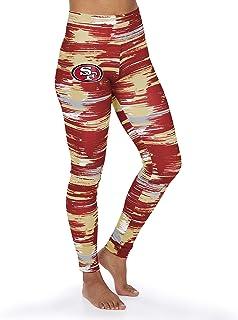 Zubaz NFL San Francisco 49ers Damen Paint Legging