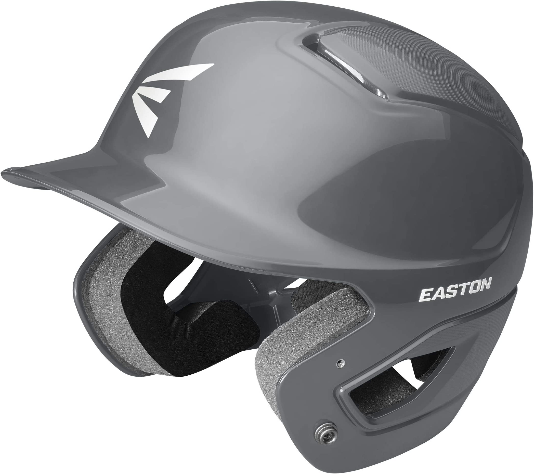 Easton Alpha Baseball Batting Helmet, 2021, Dual-Density Impact Absorption Foam, High Impact Resistant ABS Shell, Moisture Wicking BioDRI Liner, JAW Guard Compatible