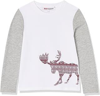 Marque RED WAGON T-Shirt avec N/œud et Ourlet Asym/étrique Fille