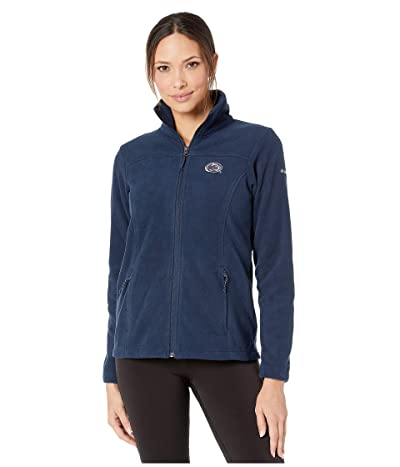 Columbia College Penn State Nittany Lions CLG Give and Gotm II Full Zip Fleece Jacket (Collegiate Navy) Women