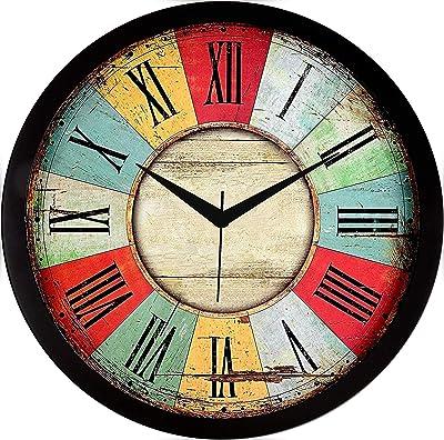 TANU Handicraft Designer Wall Clock for Home/Living Room/Bedroom/Kitchen