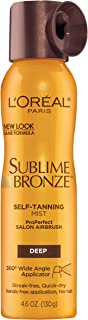 l oreal sublime bronze spray dark