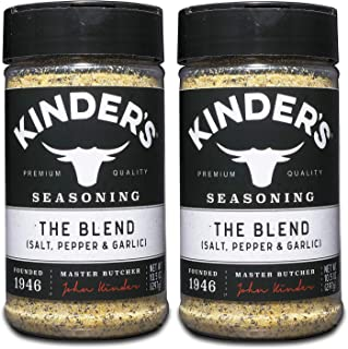 KINDER'S The Blend Seasoning 10.5 oz.Sugar free, No artificial flavors or MSG All-Natural Great on Steak, Seafood, Chicken...