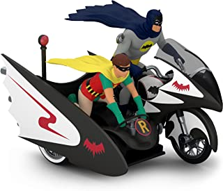 Hallmark Keepsake Christmas Ornament 2018 Year Dated, DC Comics Batman Classic TV Series Batcycle