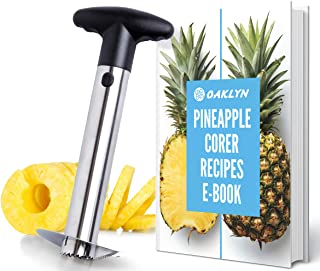 Stainless Steel Pineapple Corer with a Recipe eBook - includes One Year Warranty