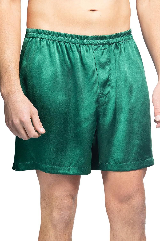 お得なキャンペーンを実施中 Fishers Finery Men's ☆国内最安値に挑戦☆ Luxury 100% Pure Imp Boxers Silk Mulberry -