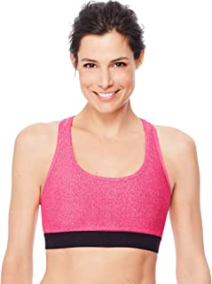 Hanes Women's Racerback Compression Bra