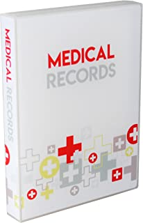 UniKeep Medical Records Journal (White)
