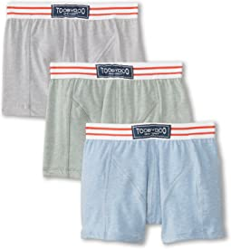 Toobydoo - Bronx Gym Club 3-Pack Underwear Set (Infant/Toddler/Little Kids/Big Kids)