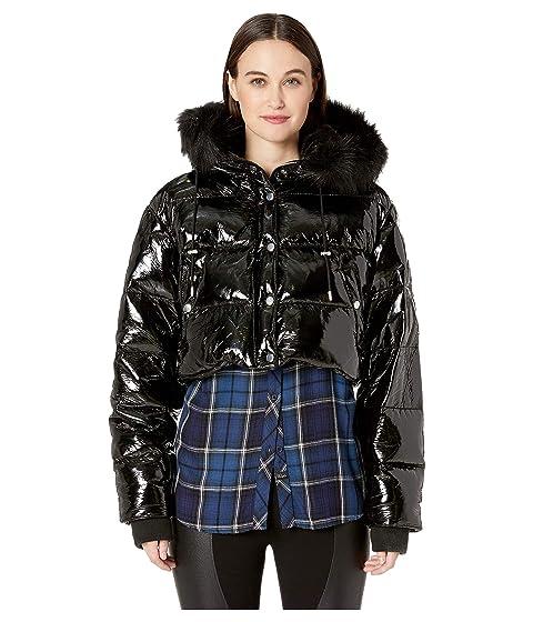 The Kooples Glossy Down Jacket