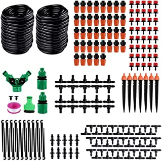 DIY Saving Water Automatic Micro Drip Irrigation System Garden Greenhouse Irrigation Spray Self Watering Kits (30M)