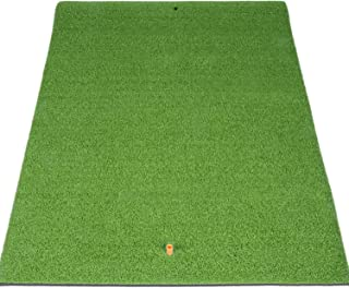 SkyLife Golf Mat Residential Practice Hitting Grass Mat with Removable Rubber Tee Holder, Home Backyard Garage Outdoor Practice