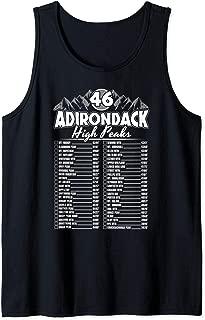 46 Adirondack Mountain Climbing Checklist Tank Top