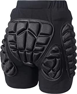 Gute Protection Hip Butt, 3D Padded Shorts Pants, Protective Gear Guard Impact Pad for Ski Ice Skating Snowboard Cycling
