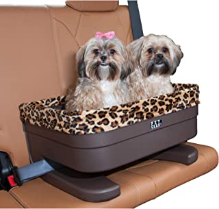 Pet Gear Booster Seat for Dogs/Cats, Removable Washable Comfort Pillow + Liner, Safety Tethers Included, Installs in Seconds, No Tools Required