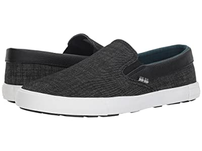 Ben Sherman Pete Slip-On (Black Denim) Men
