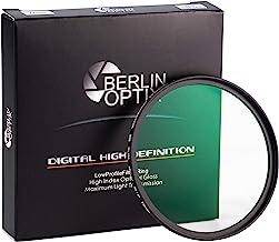 Berlin Optix Premium UV Filter 58mm ∙ Schott Glass ∙ 16 Layers Multi Coated ∙ Super Slim Aluminium Ultraviolet Lens ∙ Prot...