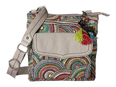 Sakroots City Swing Pack (Multi Mosaic Wanderlust) Cross Body Handbags
