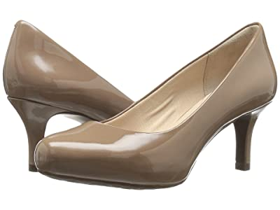 Rockport Seven to 7 Low Pump (Rich Taupe Patent) High Heels