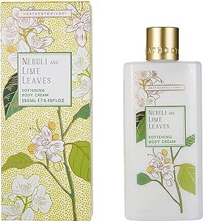 Heathcote & Ivory Softening Body Cream, Neroli and Lime Leaves, 250ml
