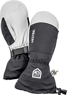 Hestra Army Leather Heli Ski Glove - Classic Snow Mitten for Skiing and Mountaineering