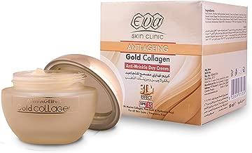 Eva Anti-Ageing Gold Collagen Anti Wrinkle Day Cream 3D Effect 50 ml Fragrance Free