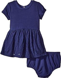 Jacquard Knit Dress (Infant)