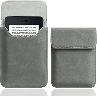 WALNEW 6 Inch Sleeve Case Cover for Kobo Clara HD/All-New Kindle 10th Generation 2019/Kindle Paperwhite 2012-2018/Kindle V...