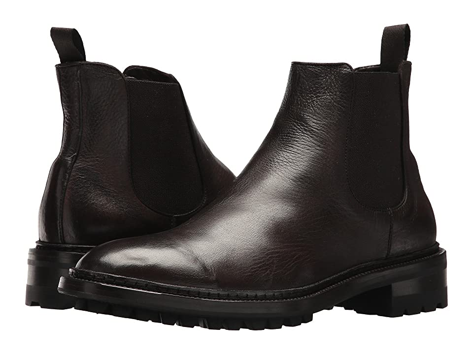 Frye Greyson Chelsea (Dark Brown Deer Skin Leather) Men