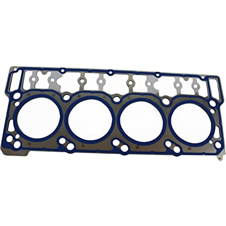OEM 18mm 20mm Cylinder Head Gasket Kit Pair /& Stand Pipes Compatible with 2003-2007 Ford 6.0 Powerstroke Diesel 18mm Late