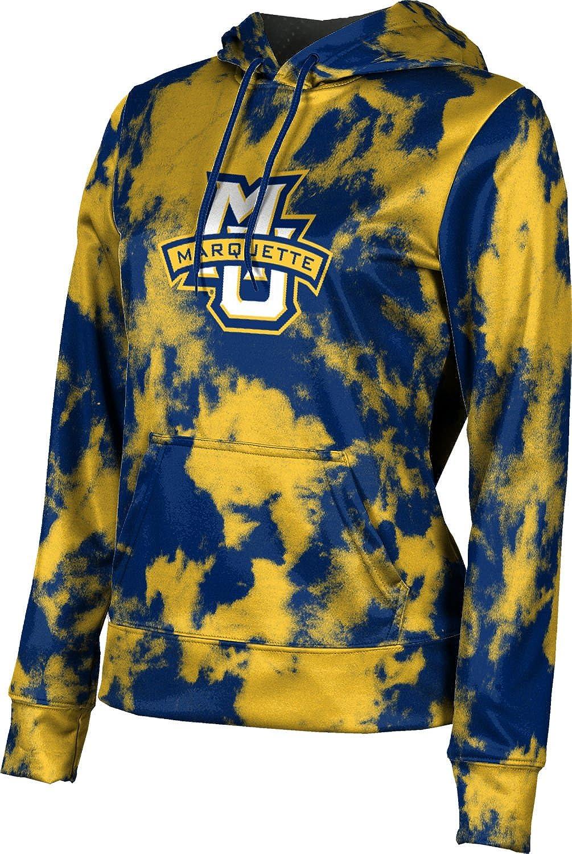 ProSphere Marquette University Girls' Pullover Hoodie, School Spirit Sweatshirt (Grunge)