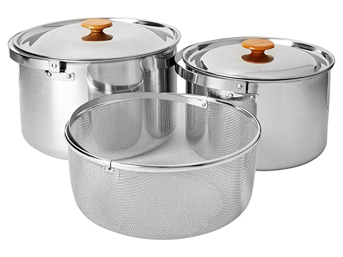 Al Dente Cookset Stainless