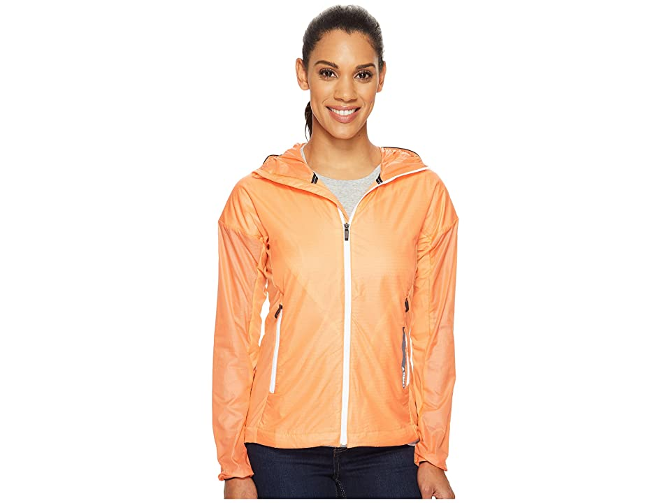 adidas Outdoor Agravic Alpha Shield Hoodie (Easy Orange) Women