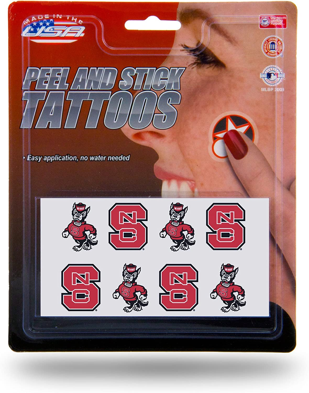 Rico Industries Face Tattoos 8-Piece Set