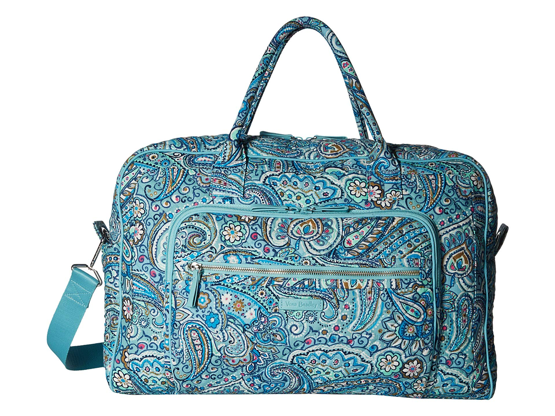 Iconic Vera Daisy Travel Bradley Dot Bag Paisley Weekender zw86Bq