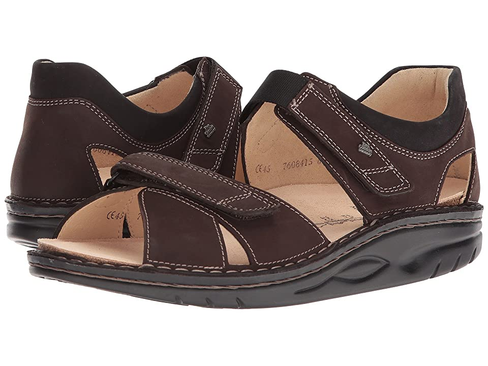 Finn Comfort Samara 1560 (Grizzly/Black) Sandals
