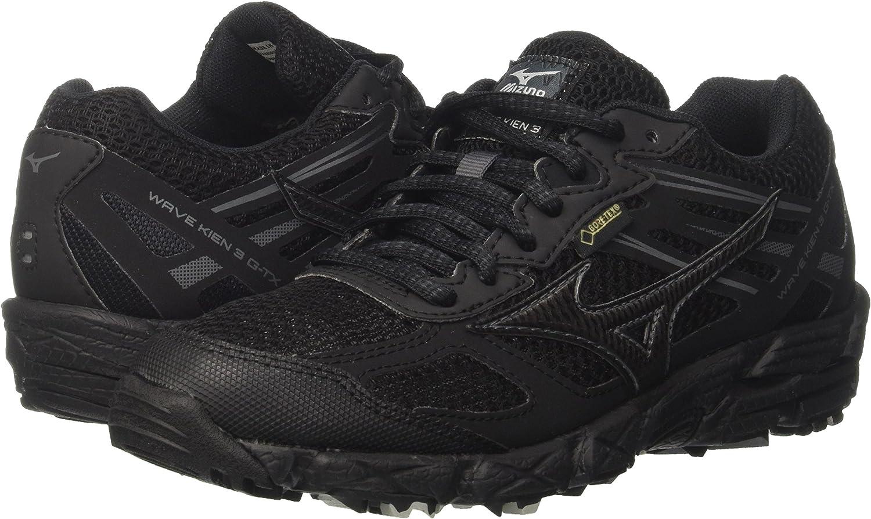 Gris Mizuno Wave Kien 3 G-TX 48 Zapatillas de Running para Asfalto para Hombre