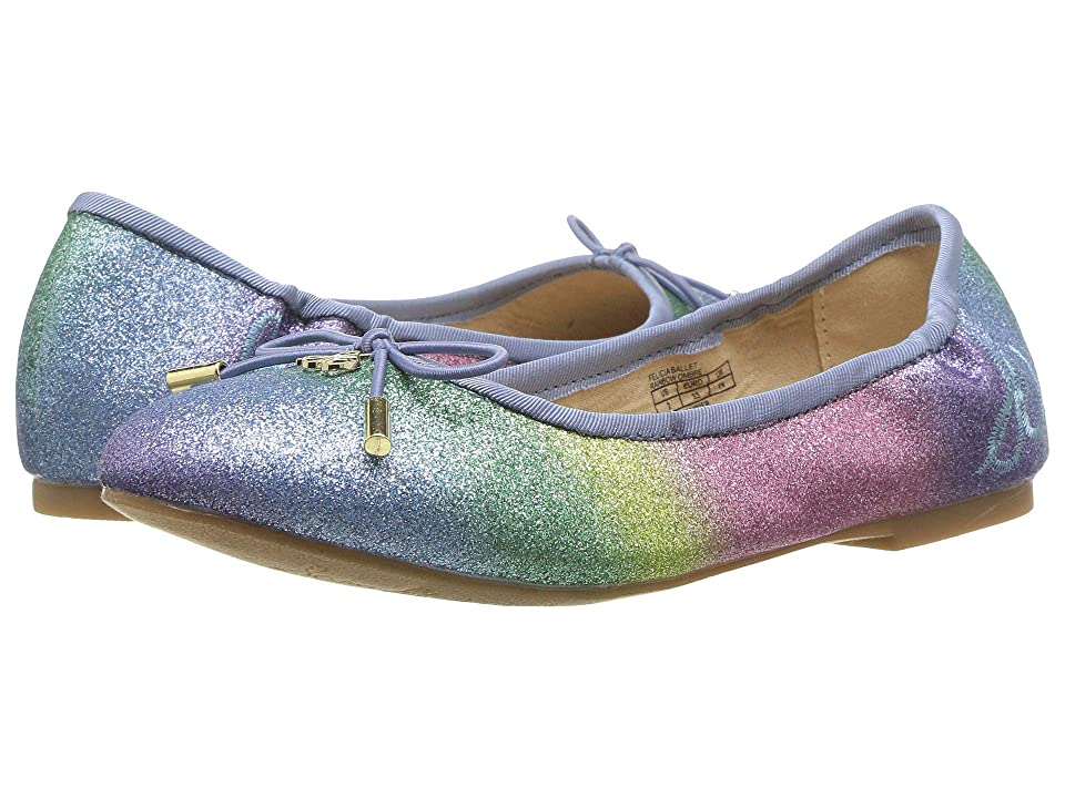 3f893d9b397a Sam Edelman Kids Felicia Ballet (Little Kid Big Kid) (Rainbow Ombre)