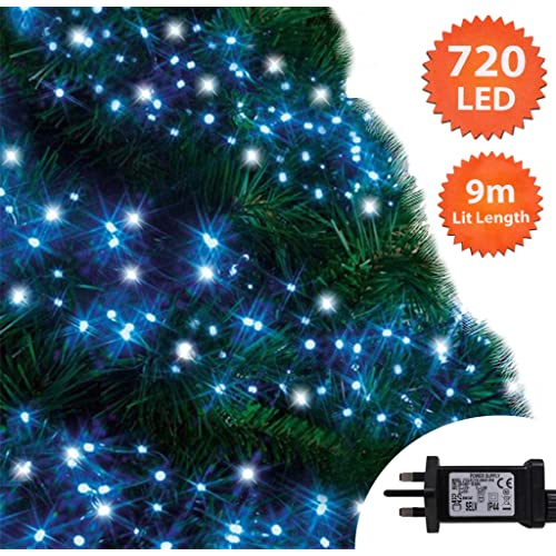 White Led Outdoor Christmas Lights.Blue And White Outdoor Christmas Lights Amazon Co Uk