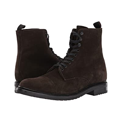Frye Officer Lace-Up (Fatigue Oiled Suede) Men
